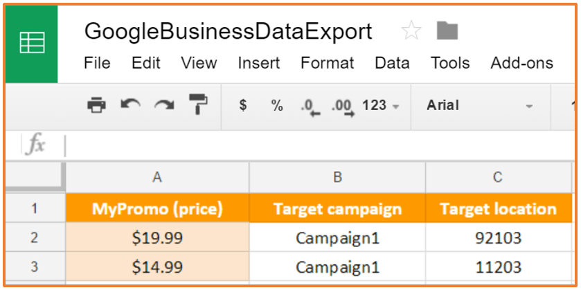 Google Sheets and AdWords | Dynamic Business Data