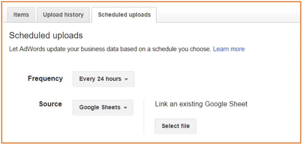 Google Sheets and AdWords