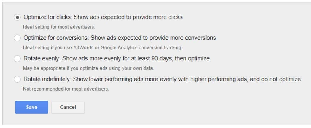 Best Ad Rotation for AdWords - Symphonic Digital