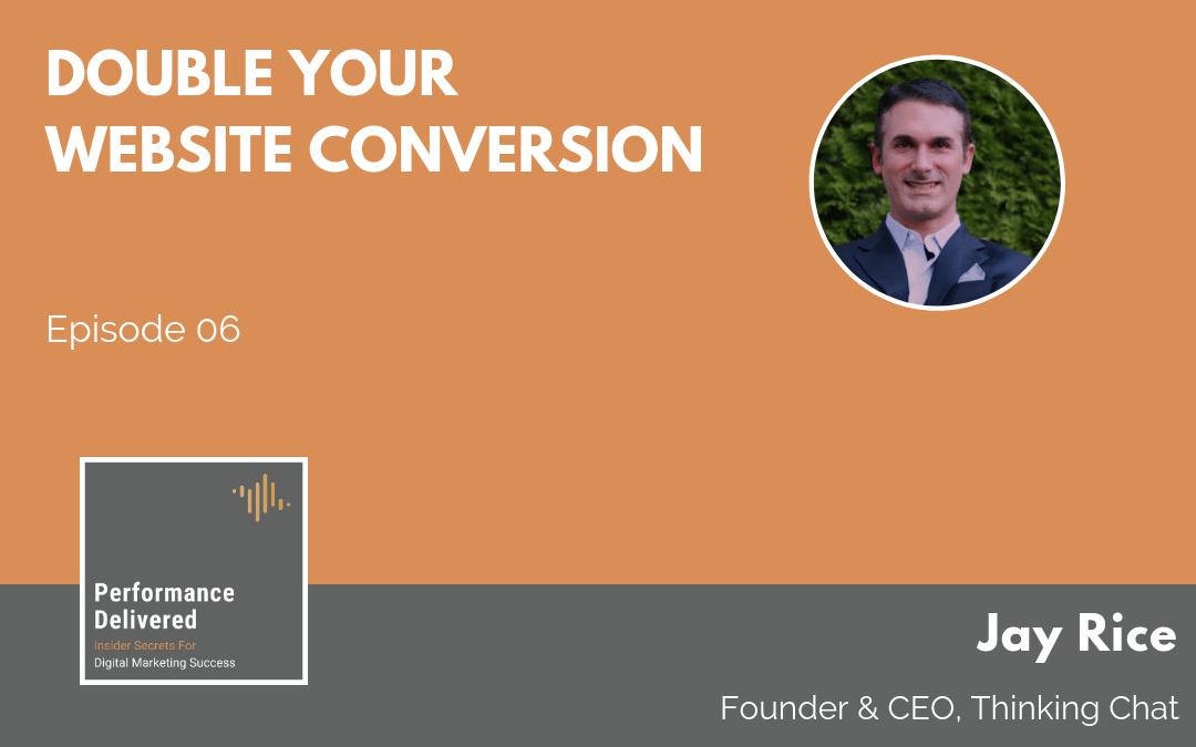Jay Rice | Double Your Website Conversion With AI Chat